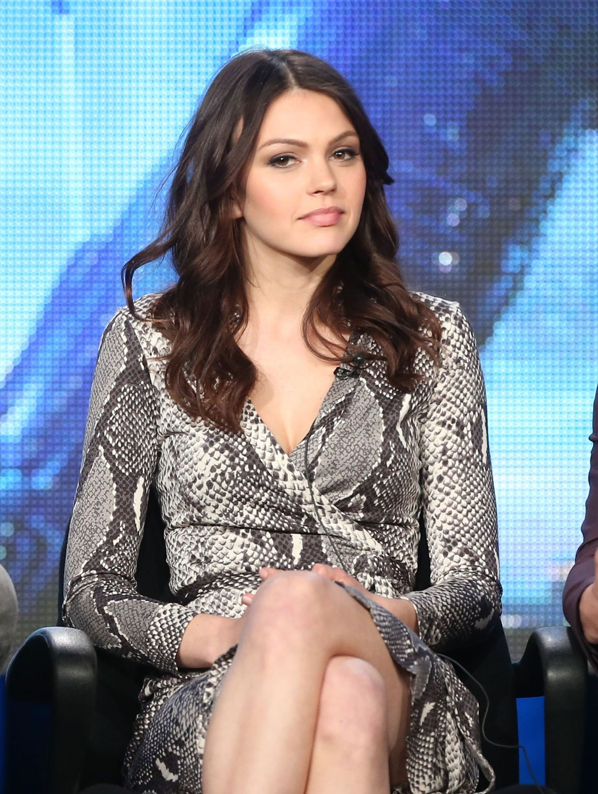 AIMEE TEEGARDEN - Star-crossed Panel at 2014 TCA Presentations in Pasadena
