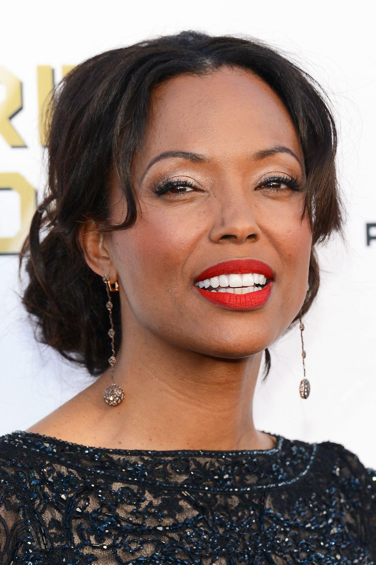 AISHA TYLER at Critic's Choice Awards in Santa Monica