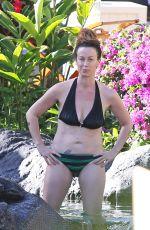 ALANIS MORISSETTE in Bikini in Hawaii
