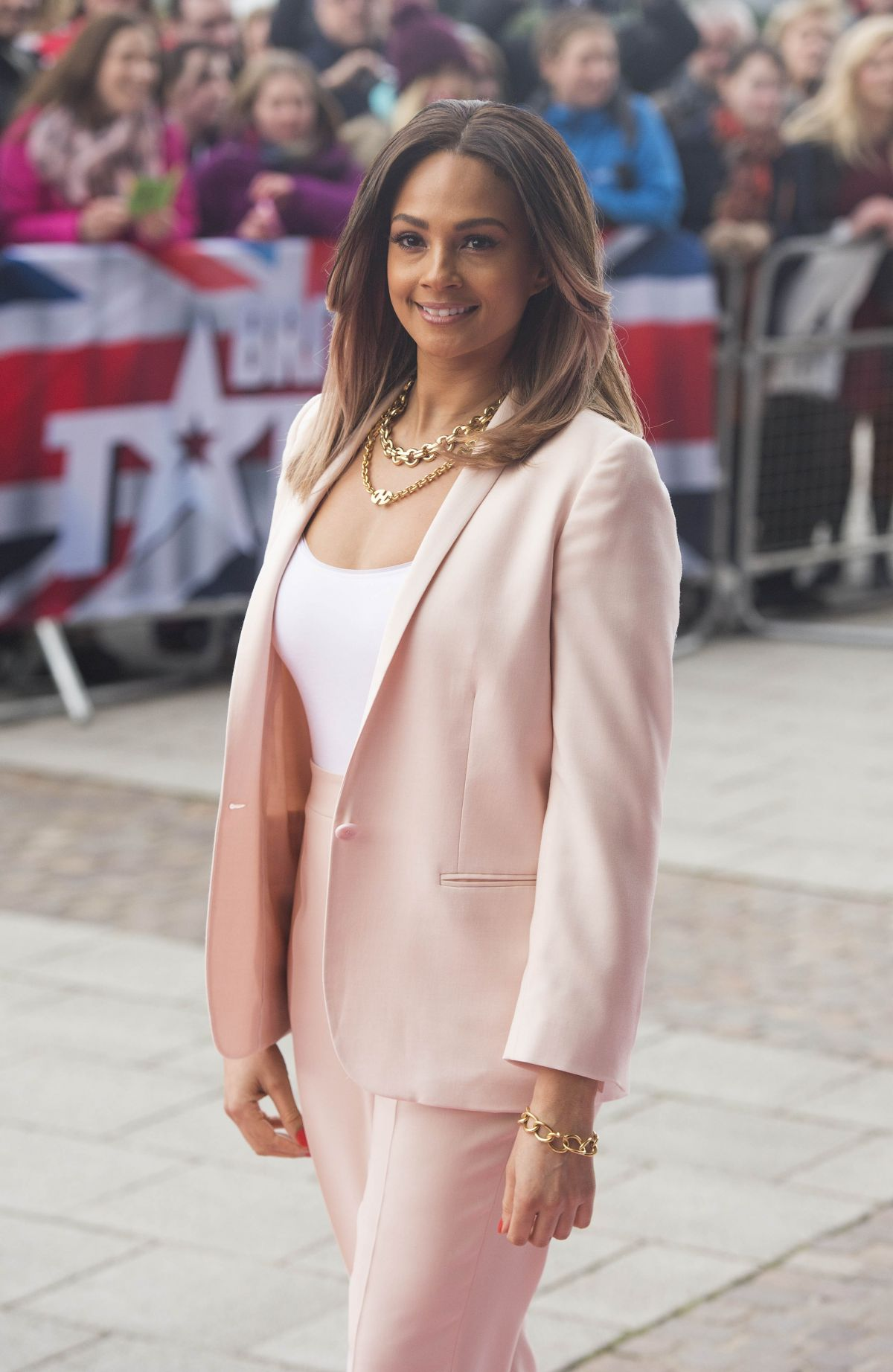 ALESHA DIXON at Britain's Got Talent Auditions in Cardiff