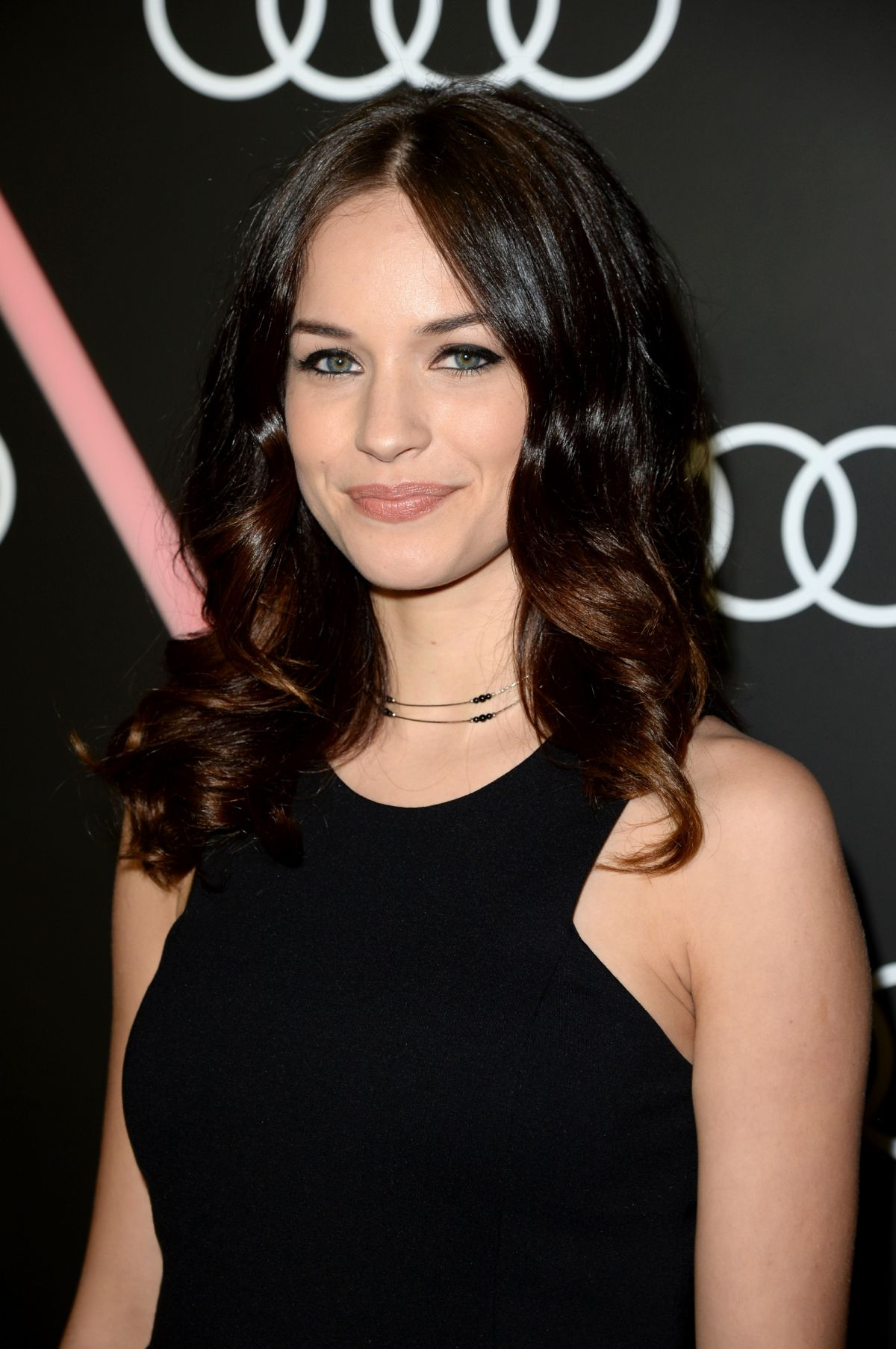 ALEXIS KNAPP at Audi Celebrates Golden Globes Weekend in Beverly Hills