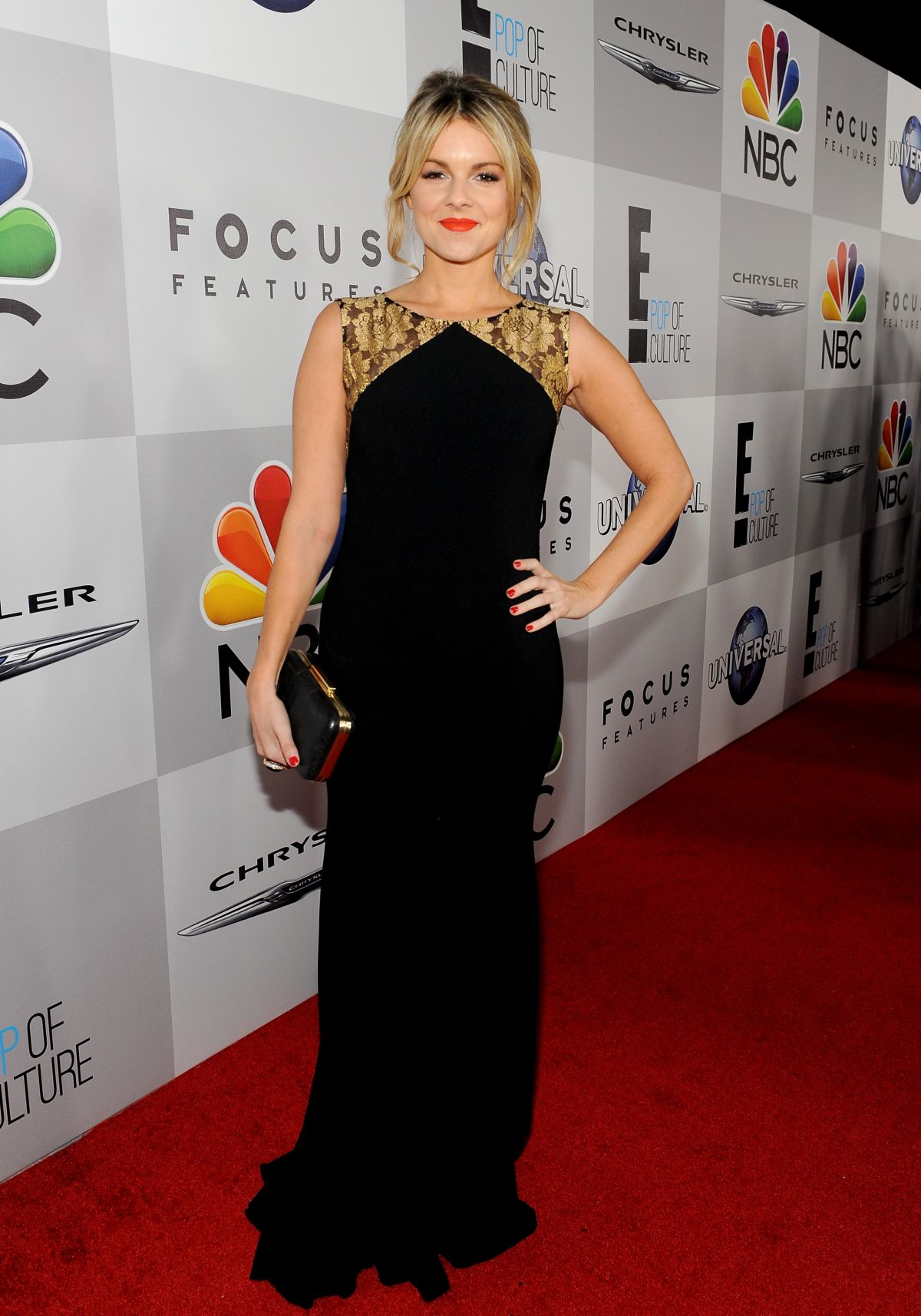 ALI FEDOTOWSKY at NBC Universal's Golden Globe Aster Party