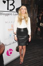 ALICE BARLOW at The Bloggers Love Secret Garden Event in London