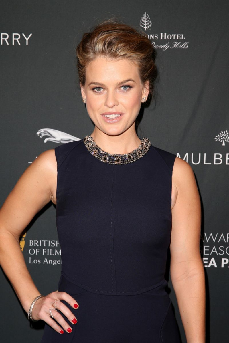 ALICE EVE at 2014 BAFTA LA Awards in Beverly Hills