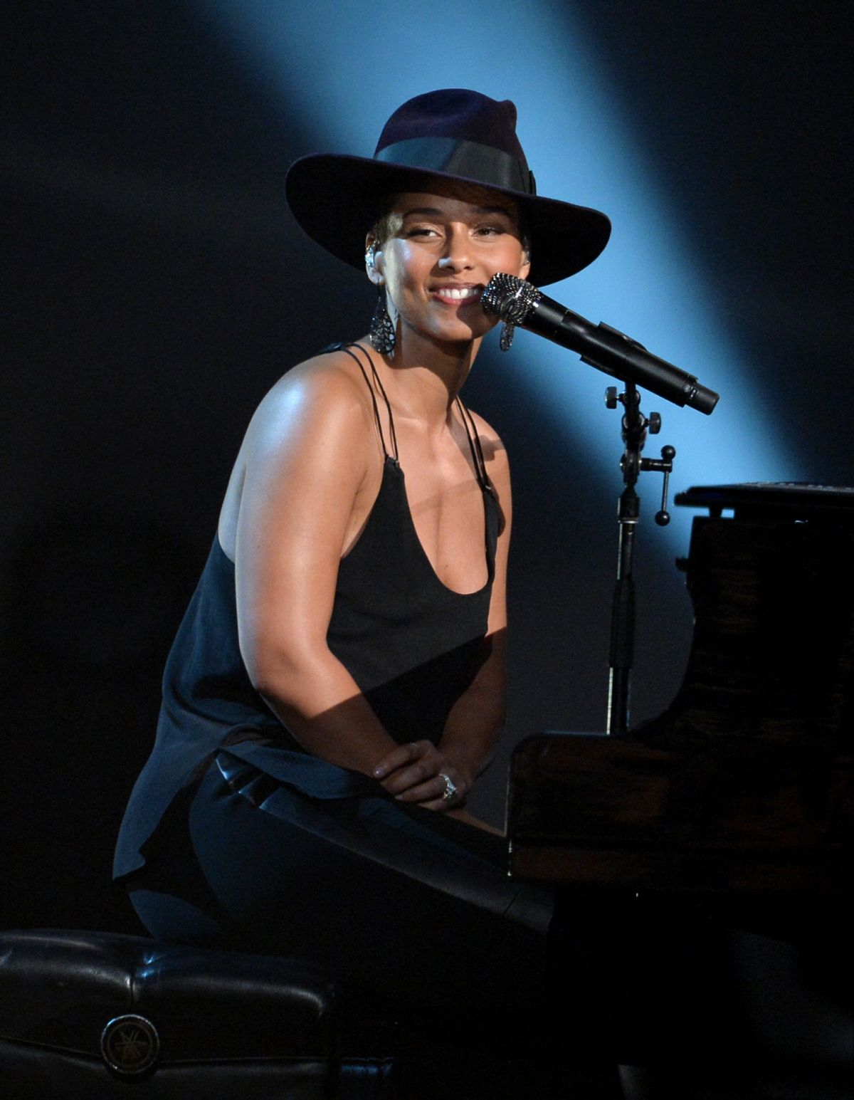 ALICIA KEYS at A Grammy Salute to The Beatles in Los Angeles