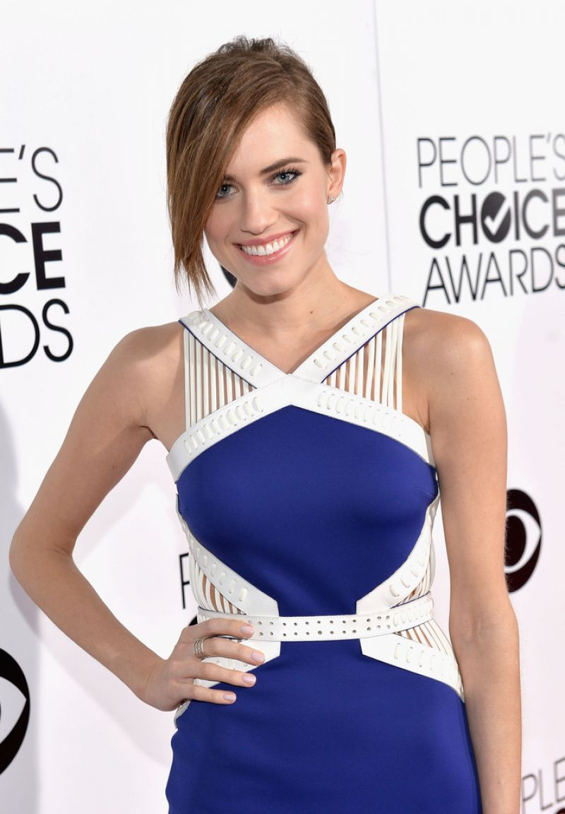 ALLISON WILLIAMS at 40th Annual People's Choice Awards in Los Angeles
