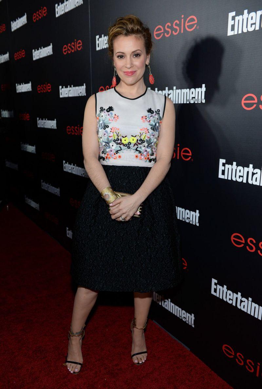 ALYSSA MILANO at Entertainment Weekly Celebration Honoring SAG Awards Nominees