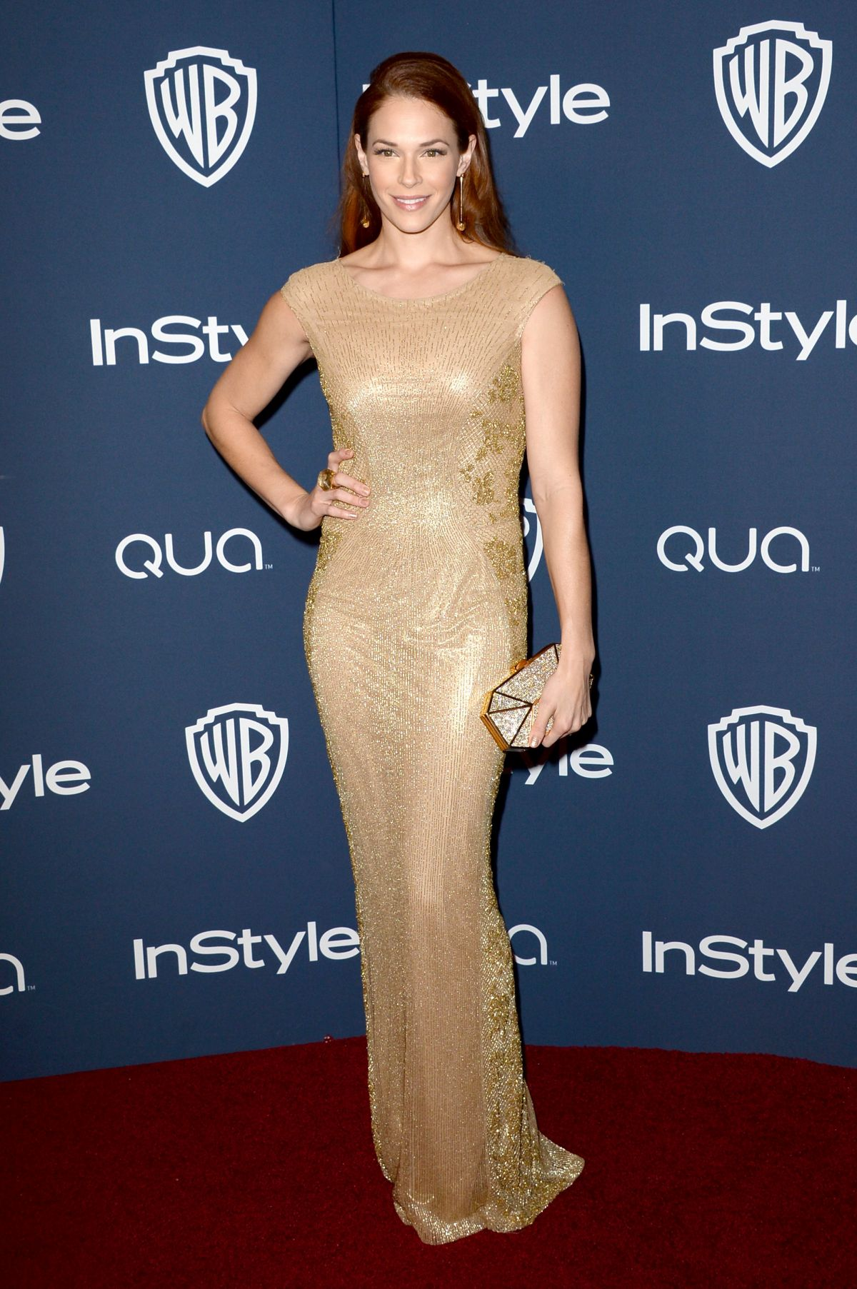 AMANDA RIGHETTI at Instyle and Warner Bros. Golden Globes Afterparty