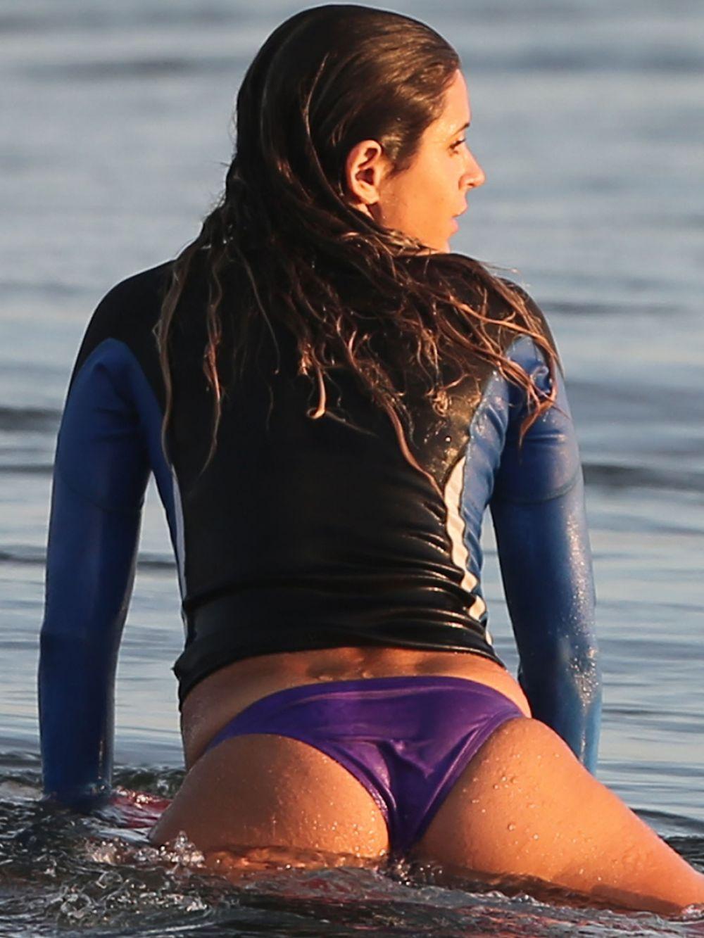Anastasia Ashley In Bikini Surfing In Los Angeles - Hawtcelebs-6081
