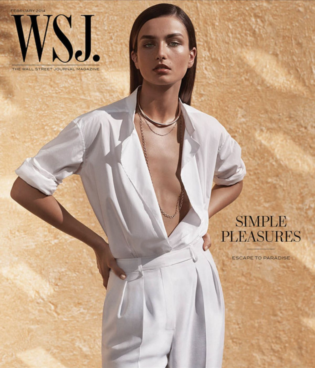 ANDREEA DIACONU in WSJ Magazine, February 2014 Issue