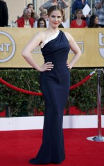 Anna Chlumsky at 20th Annual Screen Actors Guild Awards in Los Angeles