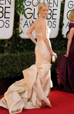 ANNA GUNN at 71st Annual Golden Globe Awards
