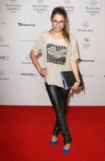 ANNA JULIA KAPFELSPERGER at Mercedes-Benz Fashion Week in Berlin
