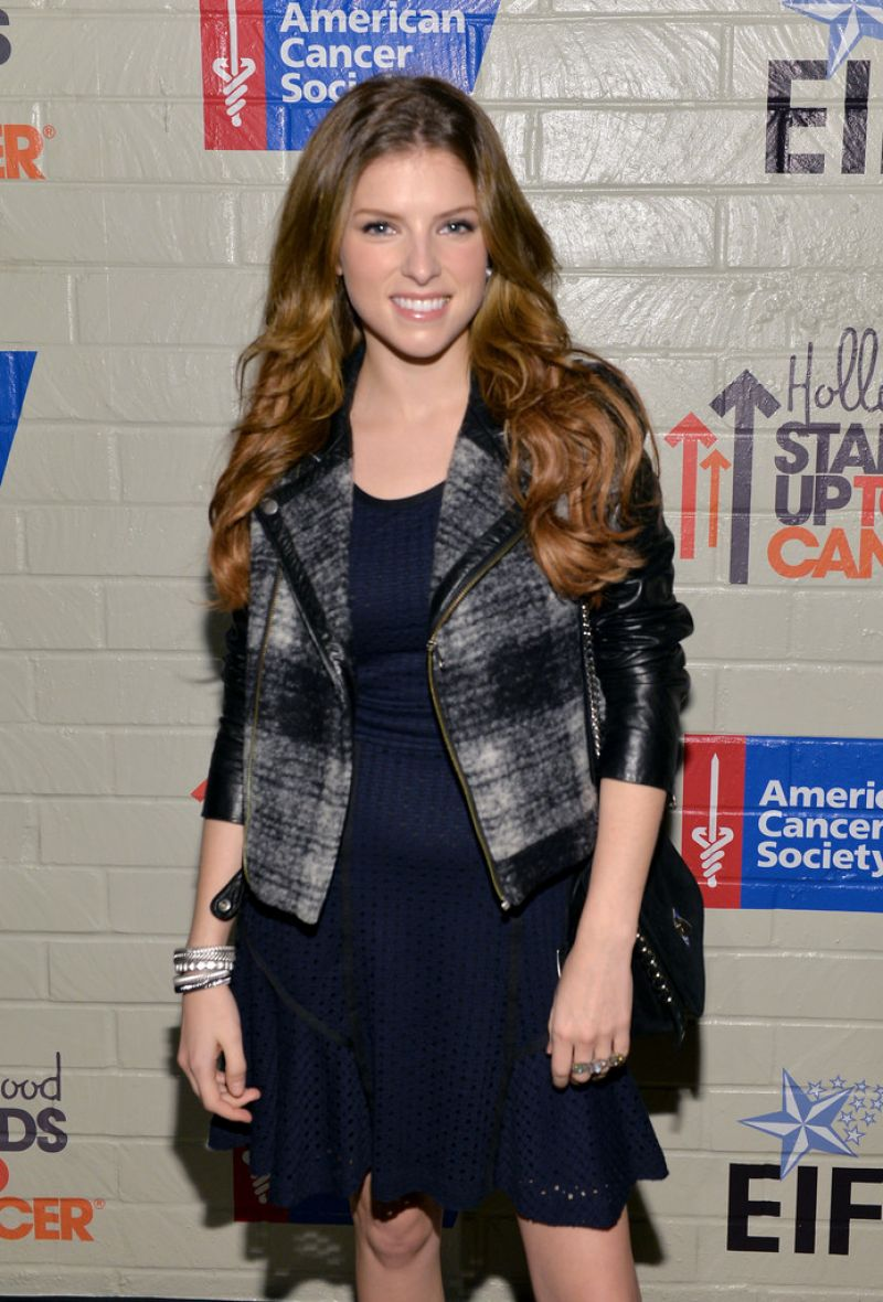 ANNA KENDRICK at Hollywood Stands Up to Cancer Event