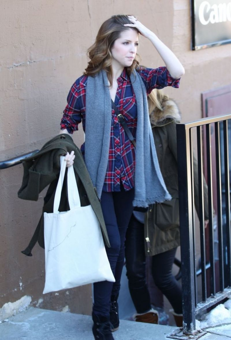 ANNA KENDRICK Out and About in Park City