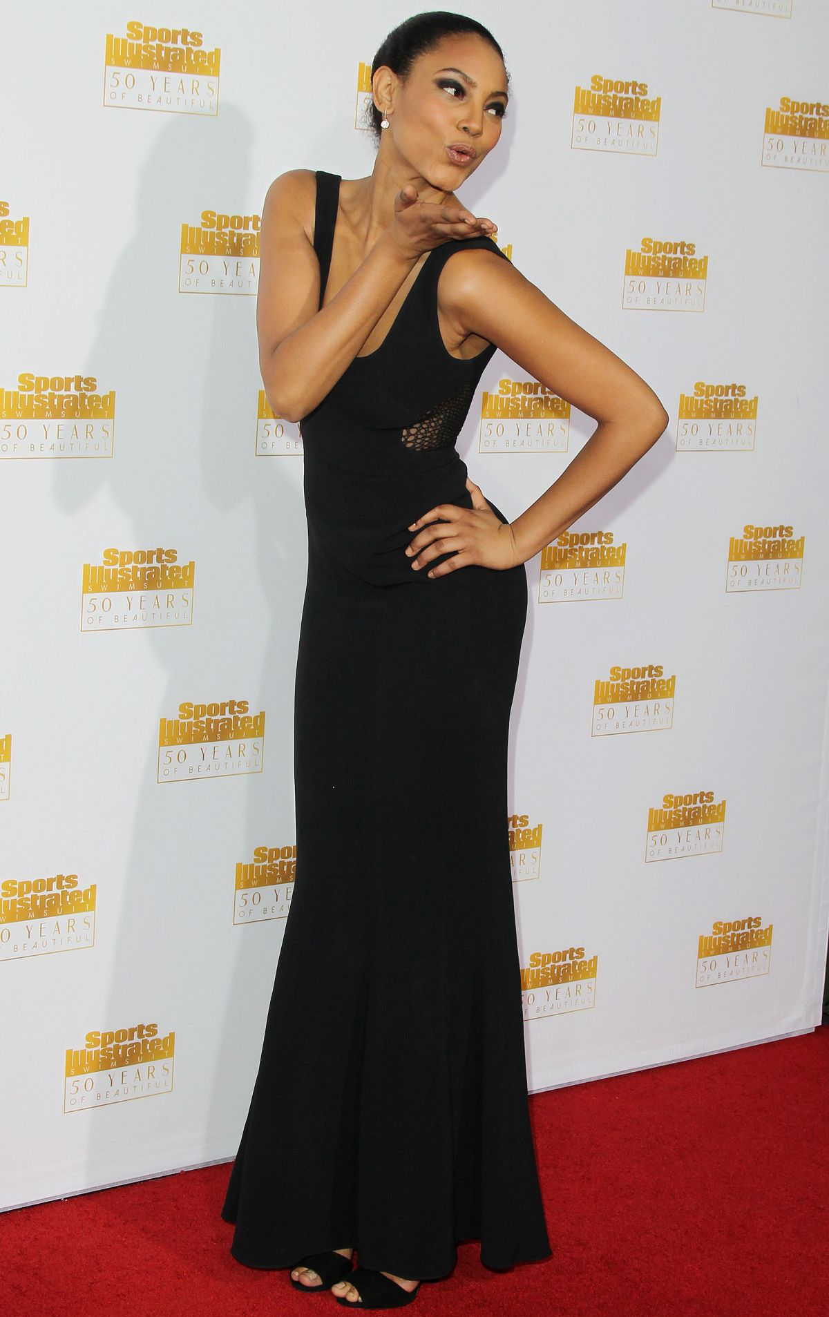 ARIEL MEREDITH at SI Swimsuit Issue 50th Anniversary Celebration in Hollywood