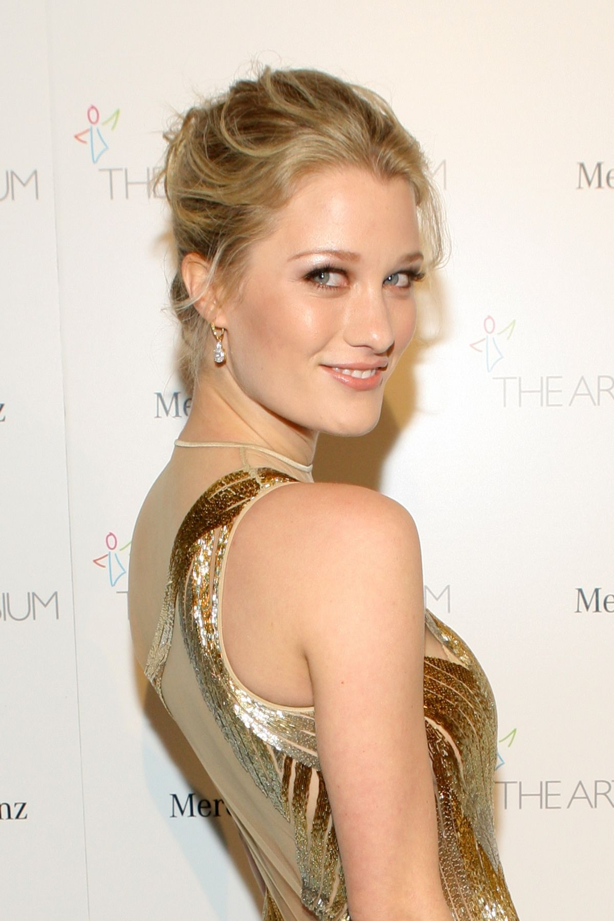 ASHLEY HINSHAW at The Art of Elysium's 7th Annual Heaven Gala in Los Angeles