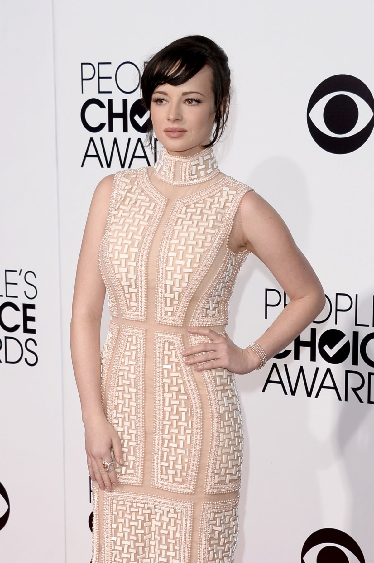 ASHLEY RICKARDS at 40th Annual People's Choice Awards in Los Angeles