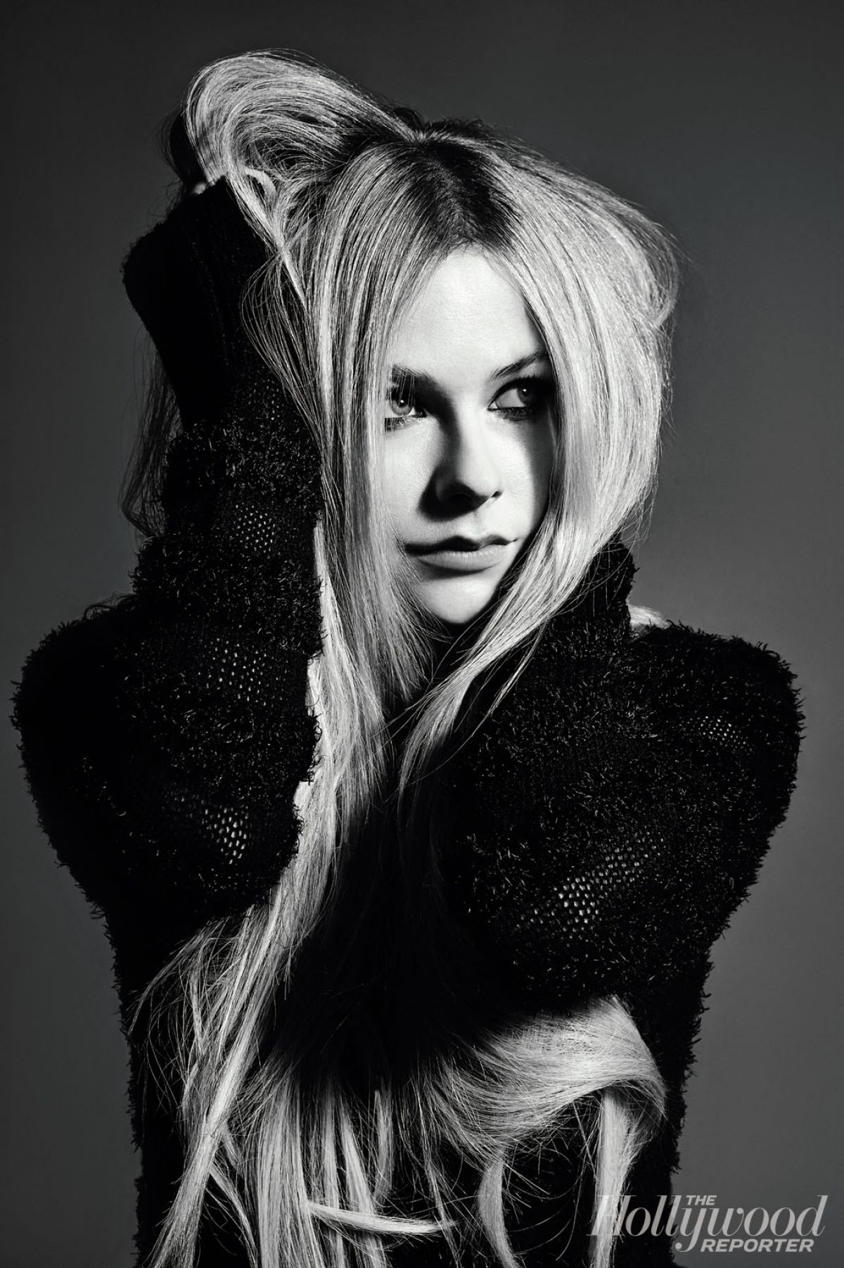 Avril Lavigne In Hollywood Reporter  January 2014 Issue