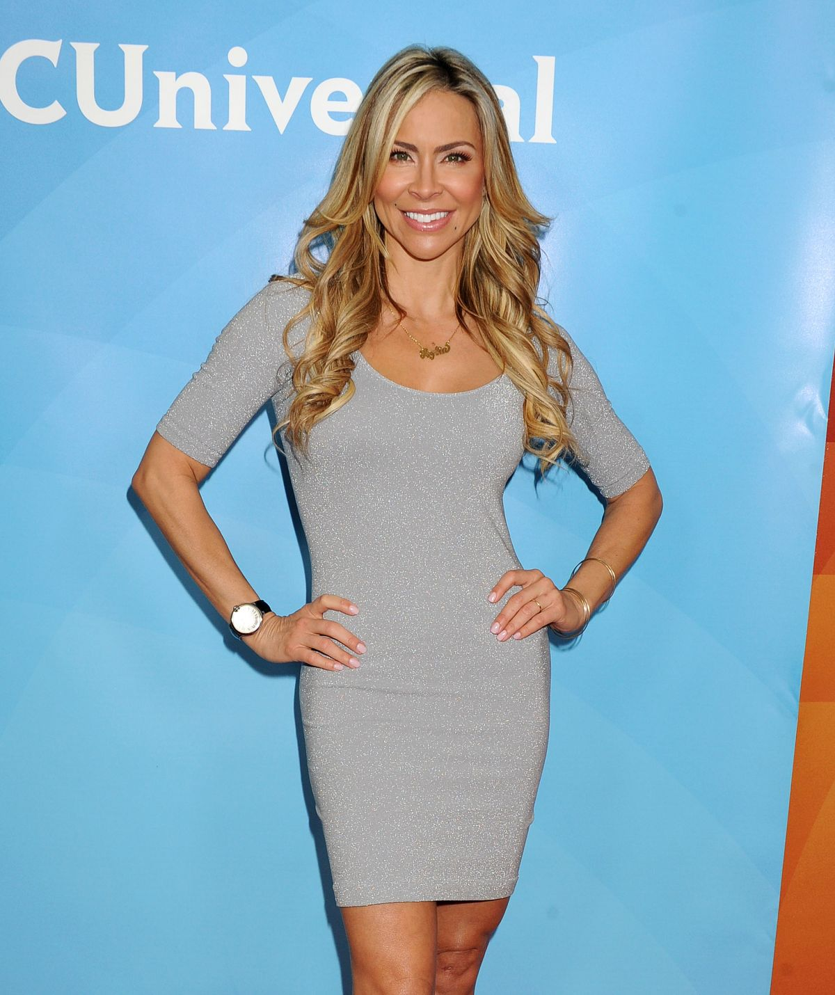 AYLIN MUJICA at NBC and Universal 2014 TCA Winter Press Tour in Pasadena