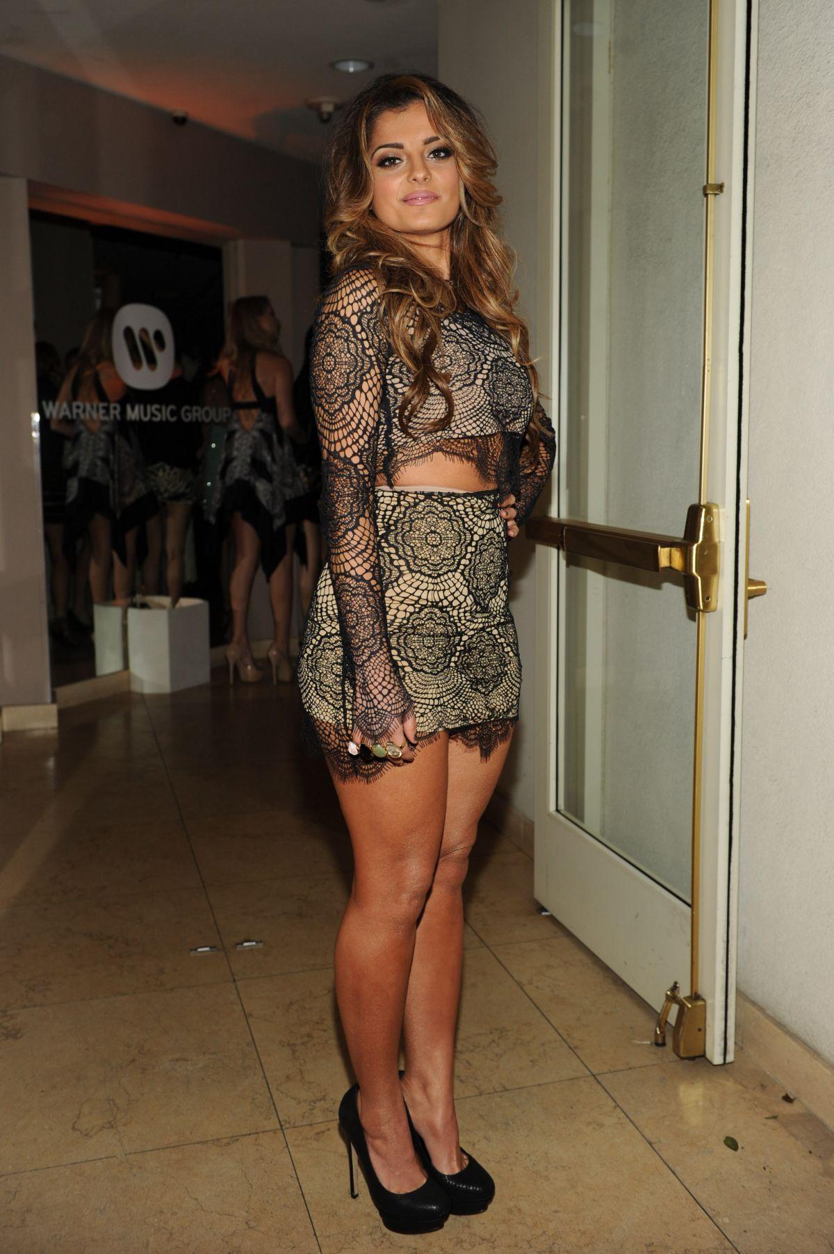 Bebe Rexha At Warner Music Group Grammy Celebration In Los Angeles