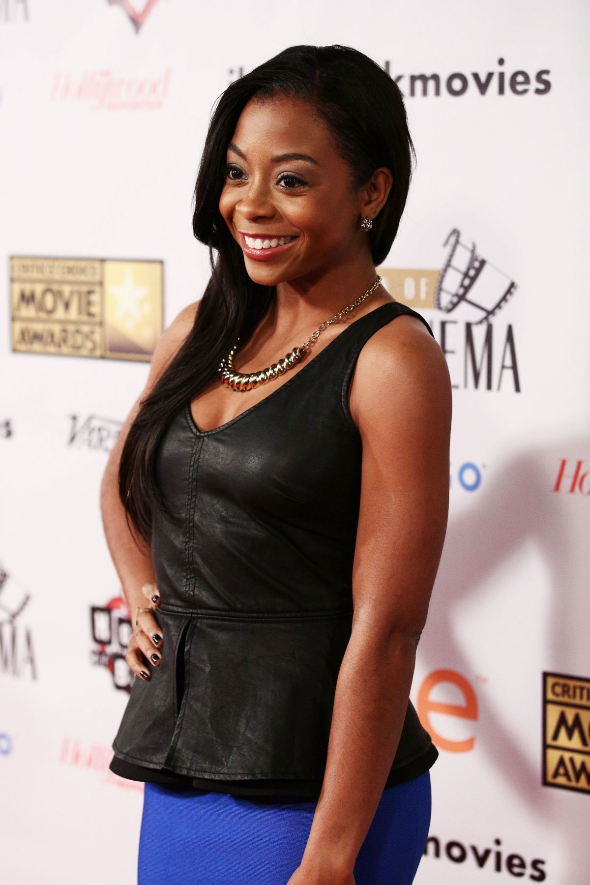 BRESHA WEBB at Celebration of Black Cinema Hosted by Broadcast Film Critics