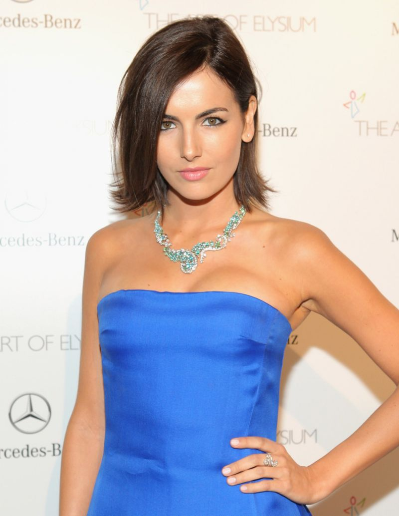 CAMILLA BELLE at The Art of Elysium's 7th Annual Heaven Gala in Los Angeles