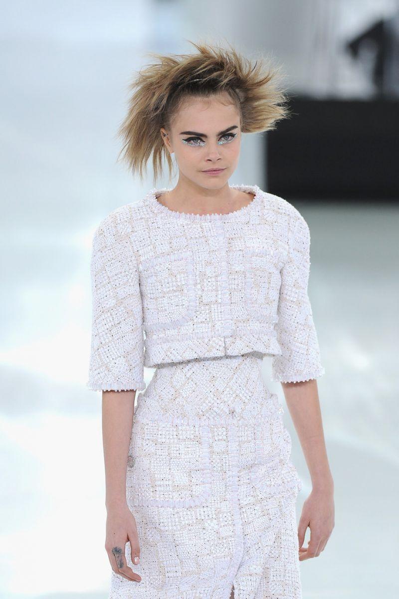 Chanel Fashion Show In Paris