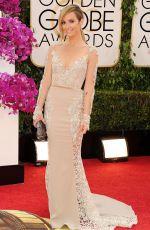 CATT SADLER at 71st Annual Golden Globe Awards