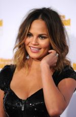 CHRISSY TEIGEN at SI Swimsuit Issue 50th Anniversary Celebration in Hollywood