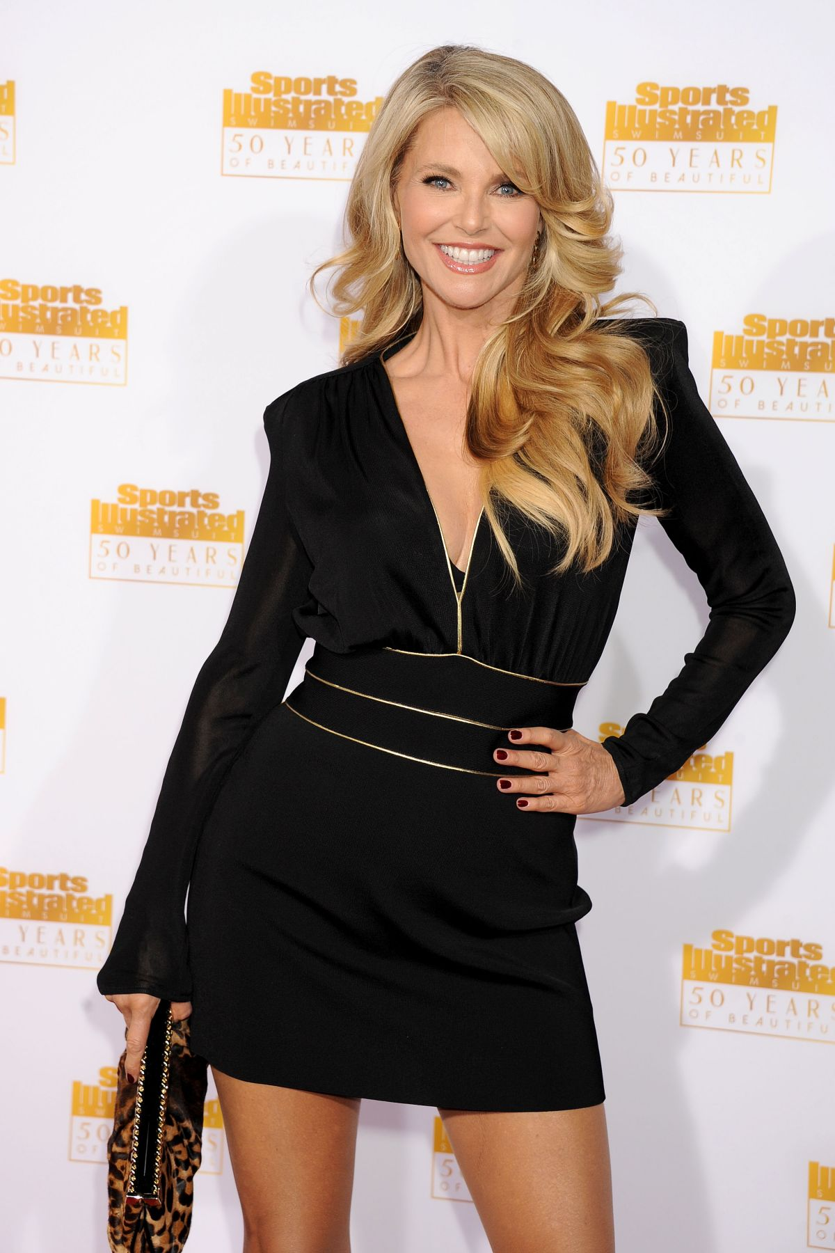 Actress/model Christie Brinkley arrives at the 50th
