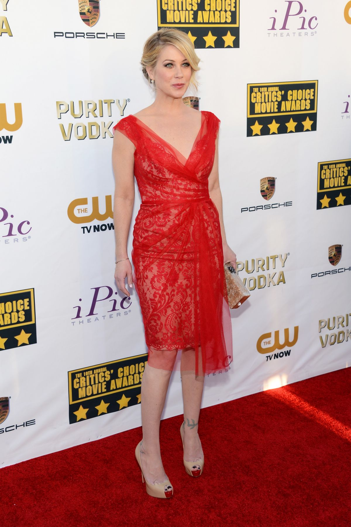 CHRISTINA APPLEGATE at Critic's Choice Awards in Santa Monica