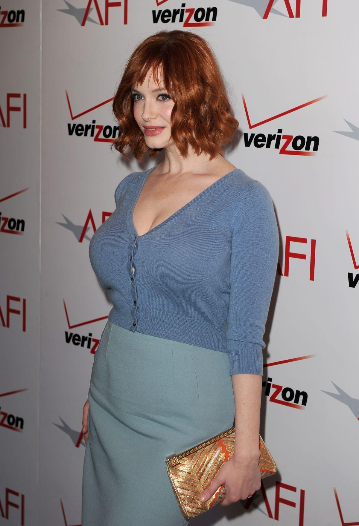Christina Hendricks attends the 13th Annual AFI Awards