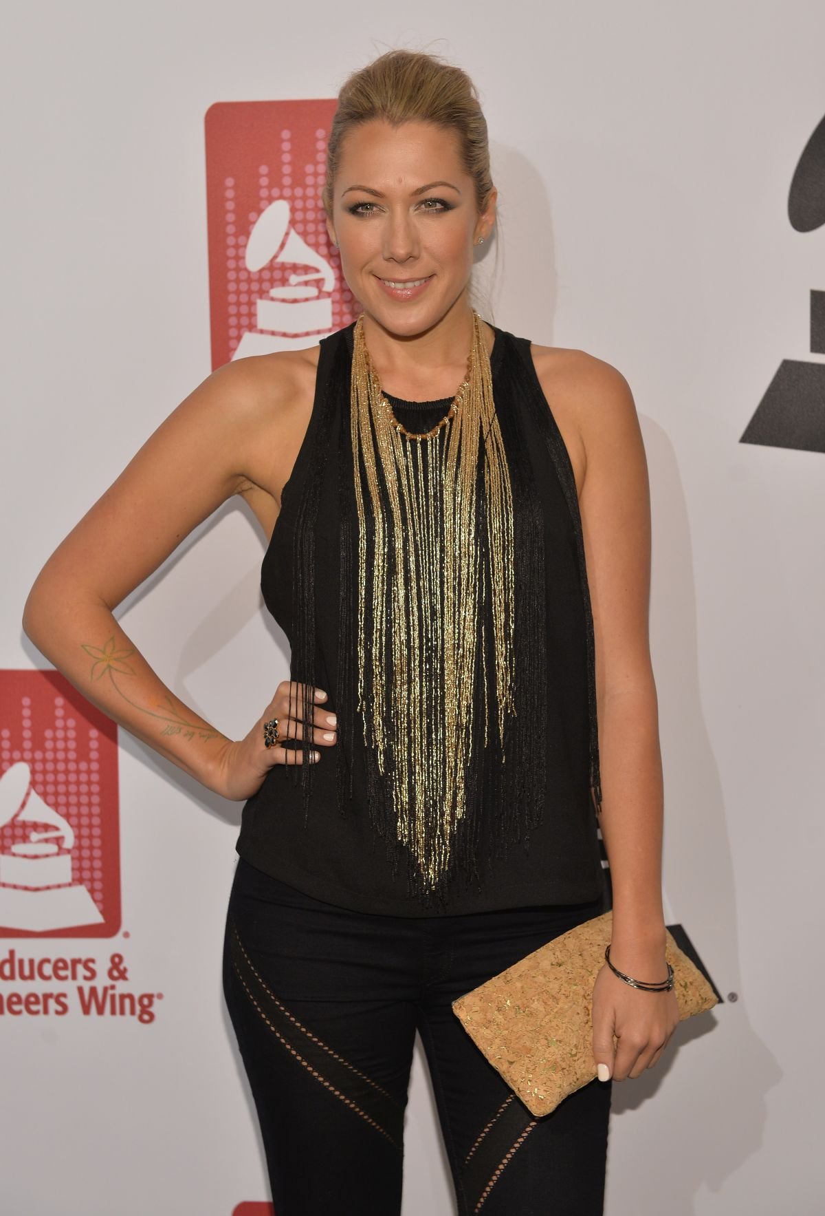 COLBIE CAILLAT at 56th Grammy Awards Producers and Engineers Wing Event Honoring Neil Young