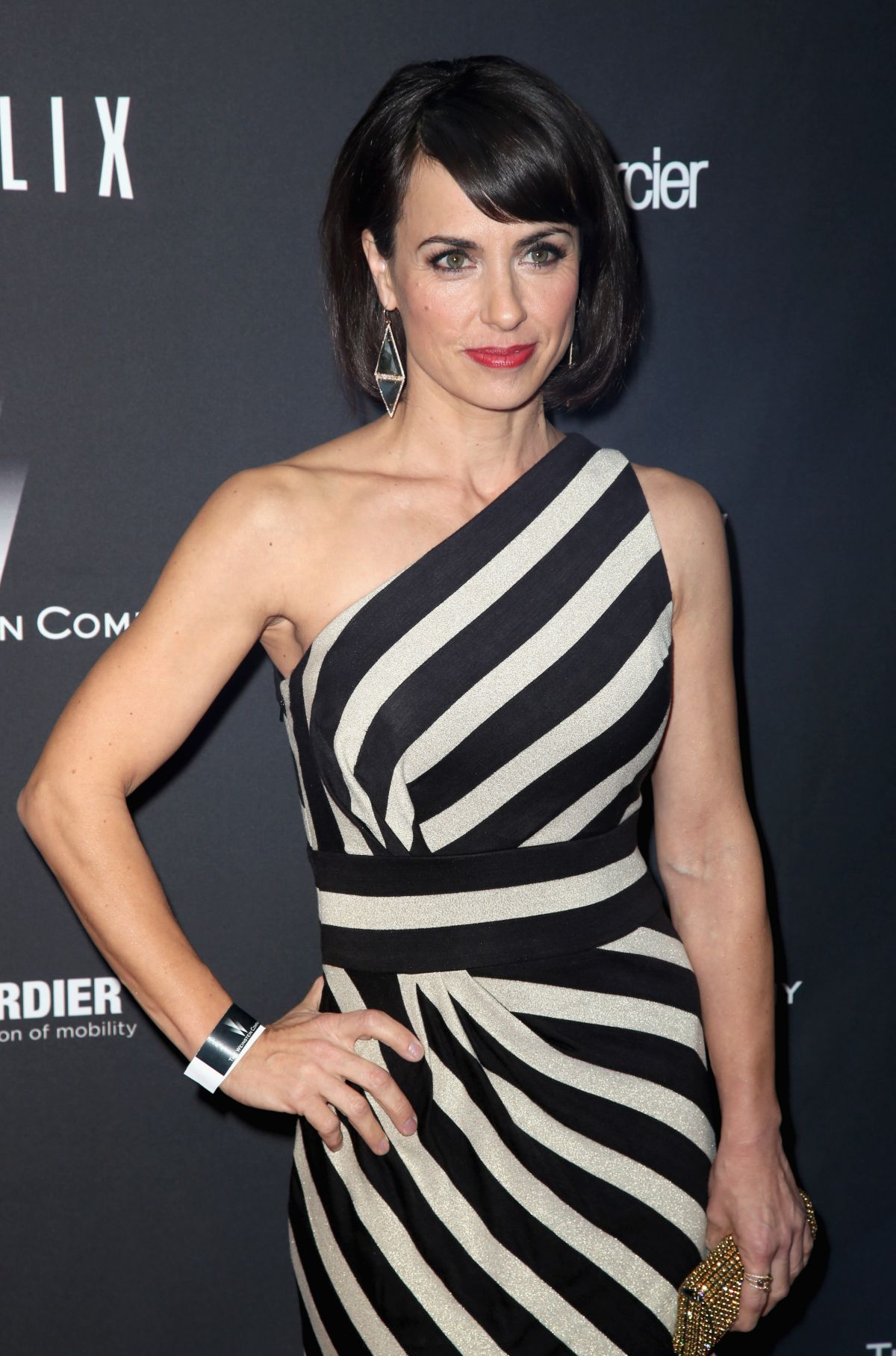 CONSTANCE ZIMMER at The Weinstein Company and Netflix Golden Globe After Party