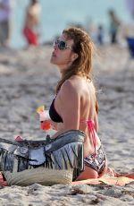 CRISTY RICE in Bikini on the Beach in Miami