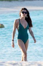 DANIELLE LINEKER in Bikini on a Beach in St. Barts