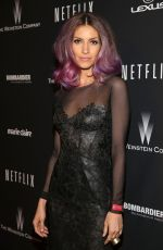 DAWN OLIVIERI at The Weinstein Company and Netflix Golden Globe After Party
