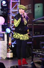 DEBBIE HARRY Performs at Dick Clark's New Year's Rockin' Eve with Ryan Seacrest in Los Angeles