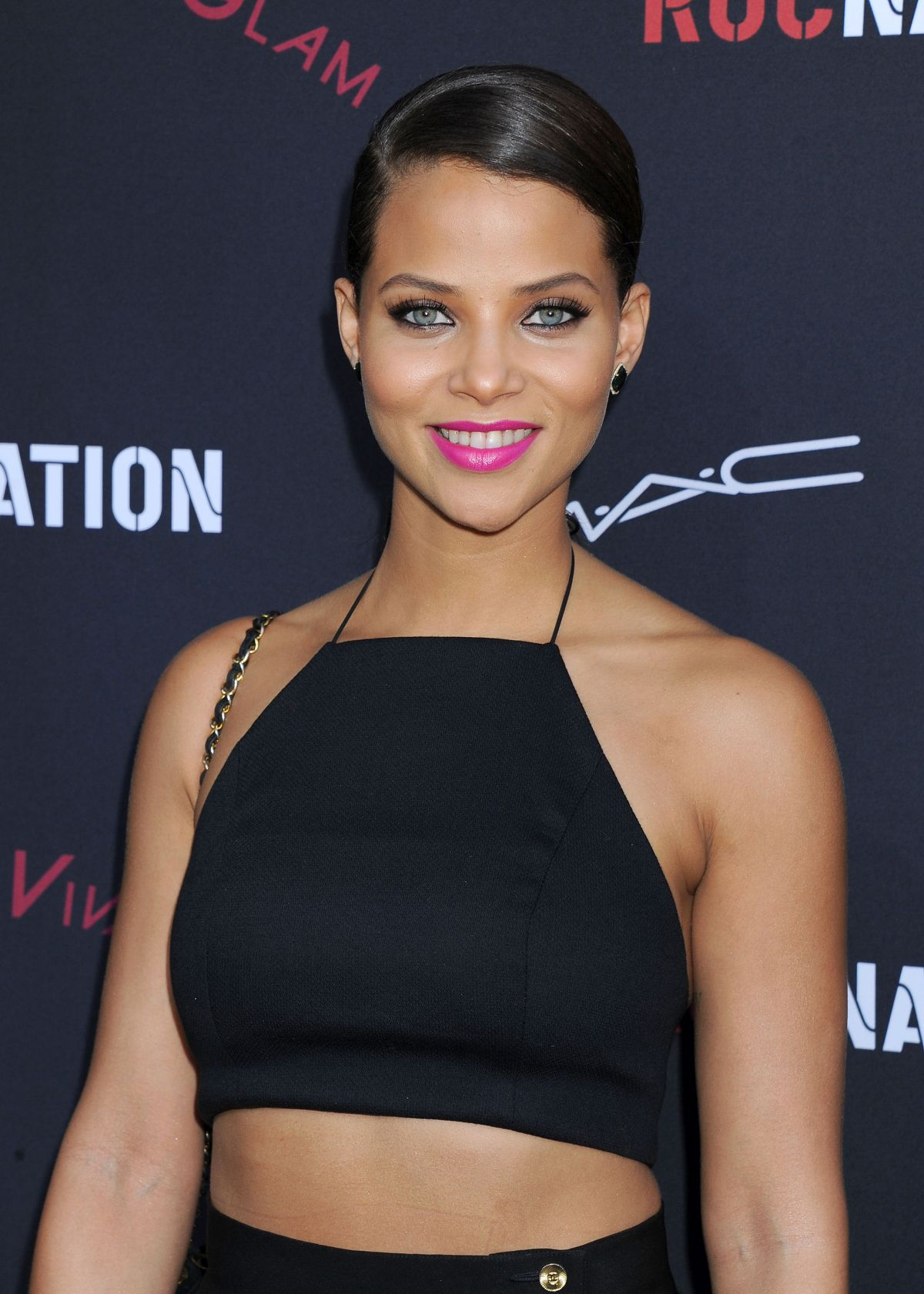 DENISE VASI at 2014 Roc Nation Pre-Grammy Brunch in Beverly Hills