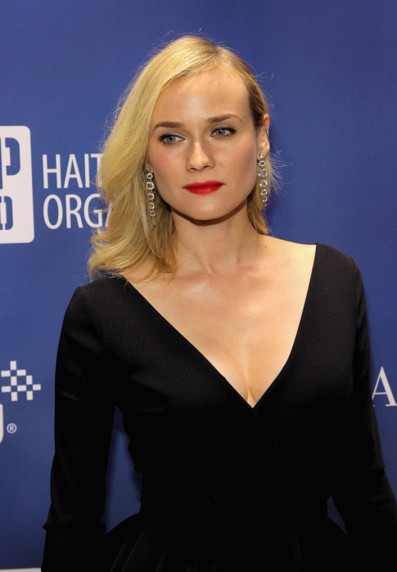 DIANE KRUGER at 3rd Annual Help Haiti Home Gala Benefiting in Beverly Hills