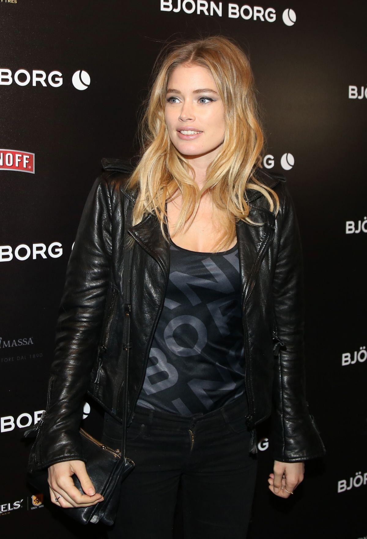 Doutzen Kroes Arrives At Bjorn Borg Fashion Show Hawtcelebs