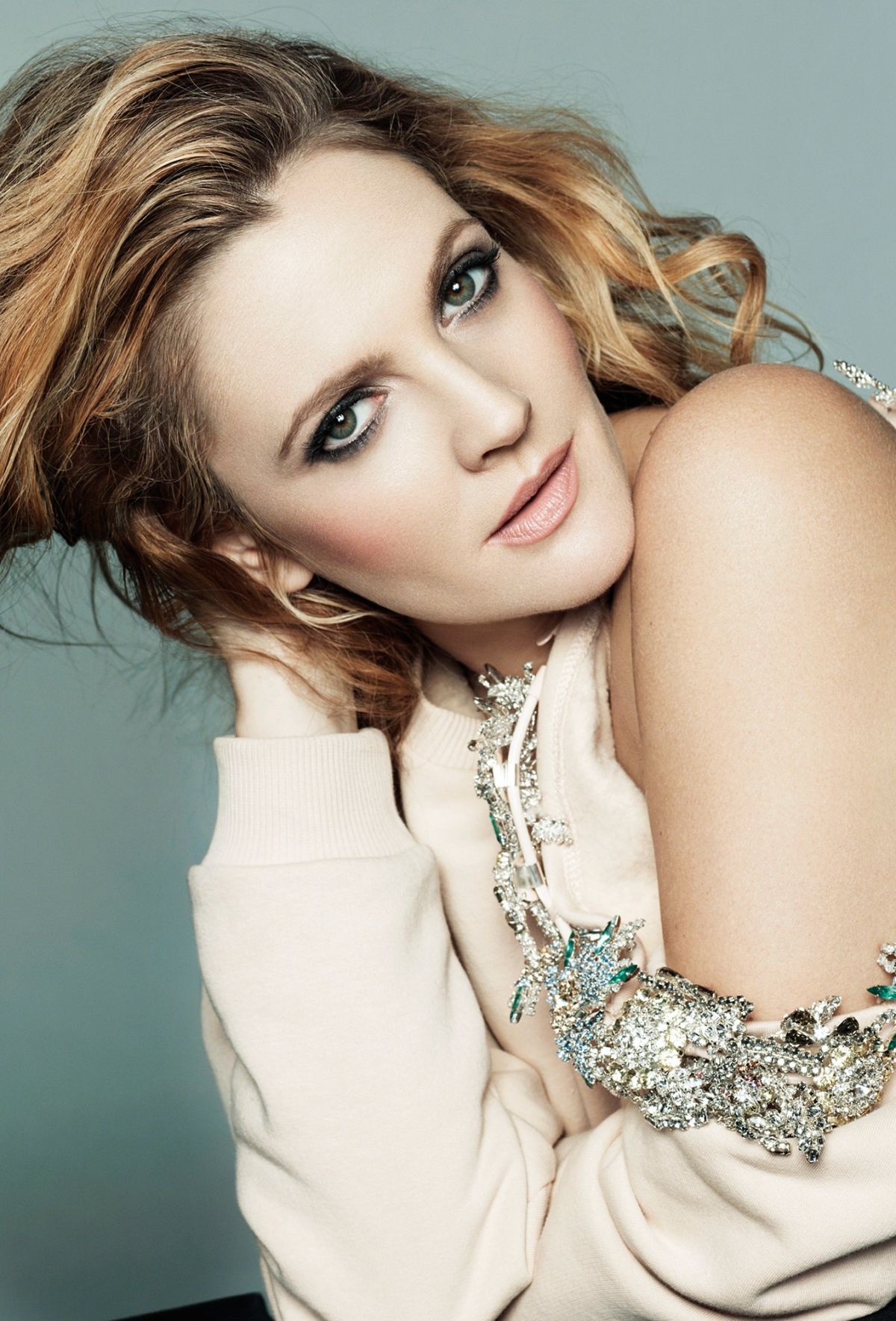 DREW BARRYMORE in Marie Claire Magazine  February 2014 IssueDrew Barrymore 2014