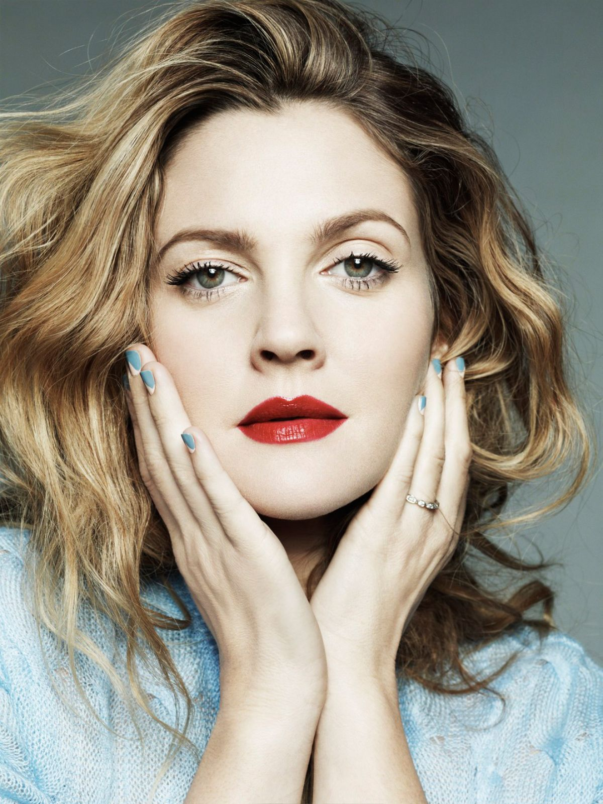 <b>DREW BARRYMORE</b> in Marie Claire Magazine, February 2014 Issue © hawtcelebs. <b>...</b> - drew-barrymore-in-marie-claire-magazine-february-2014-issue_4
