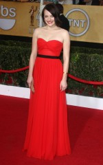 Elisabeth Moss at 20th Annual Screen Actors Guild Awards in Los Angeles