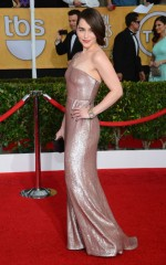 Emilia Clarke at 20th Annual Screen Actors Guild Awards in Los Angeles