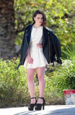 EMILIA CLARKE at a Photoshoot in Los Angeles