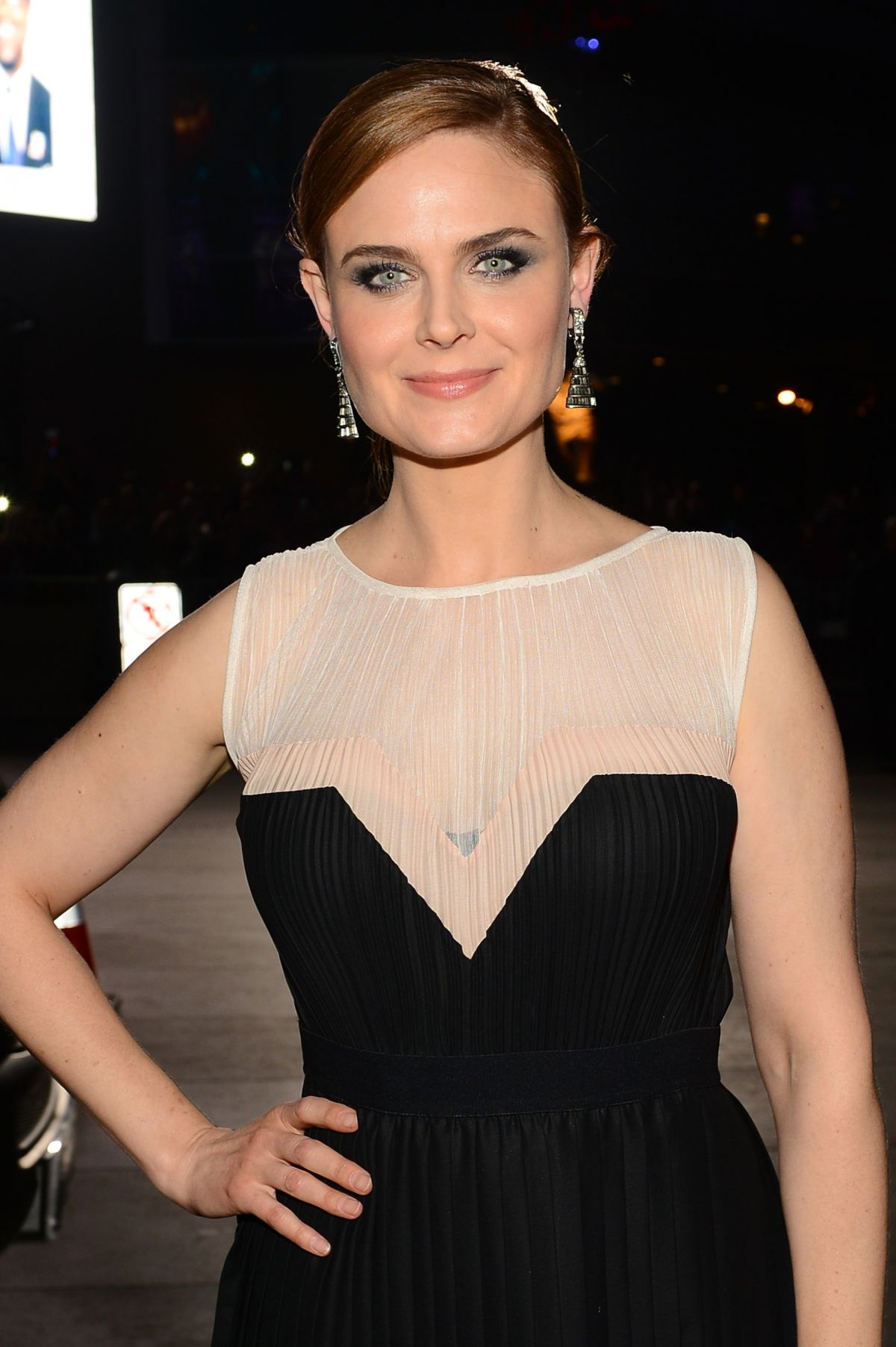 Deschanel Emily Twitter Emily Deschanel at 40th Annual