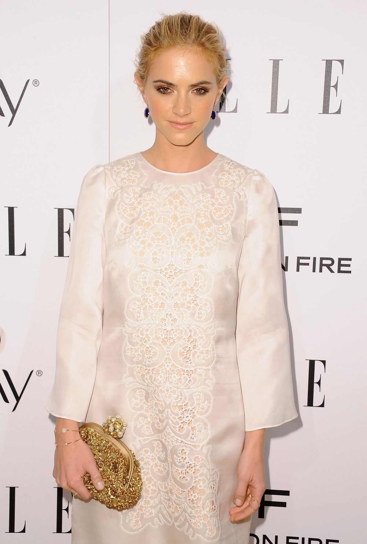 EMILY WICKERSHAM at Elle's Women in television Celebration in Hollywood