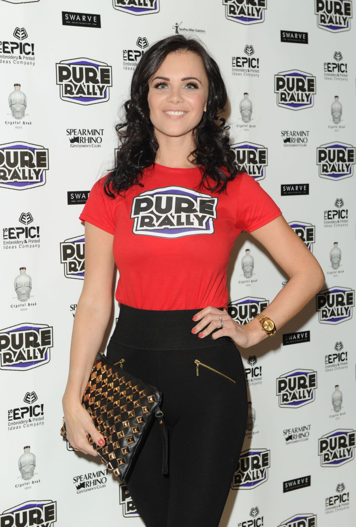 EMMA GLOVER at Pure Rally Event at Mayfair in London